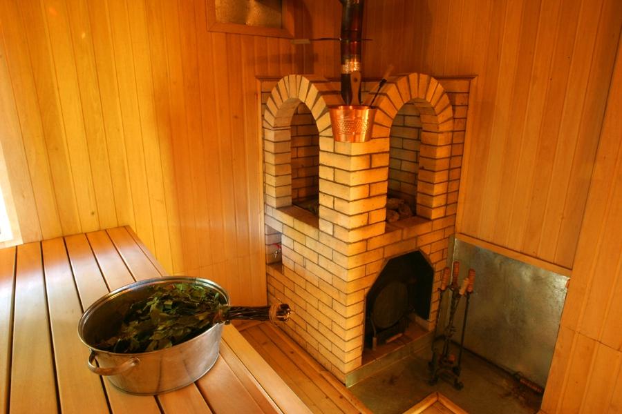 Строить печь в баню